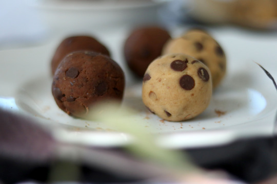 balls cookie dough