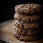 vegan molasses cookies