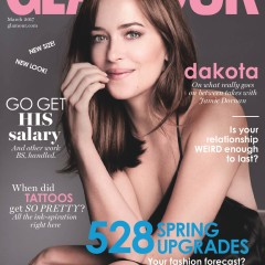 Glamour March 2017 cover